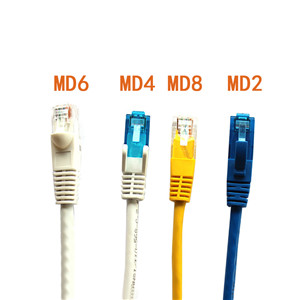 U/UTP CAT6A & CAT6 Patch Cord Cable